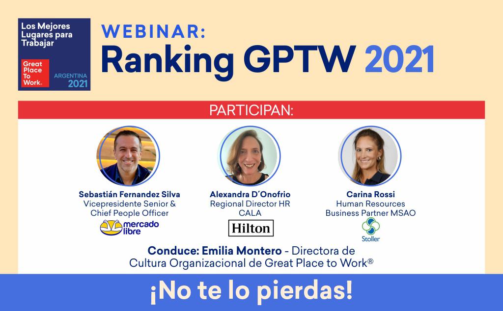 Webinar del Ranking GPTW 2021