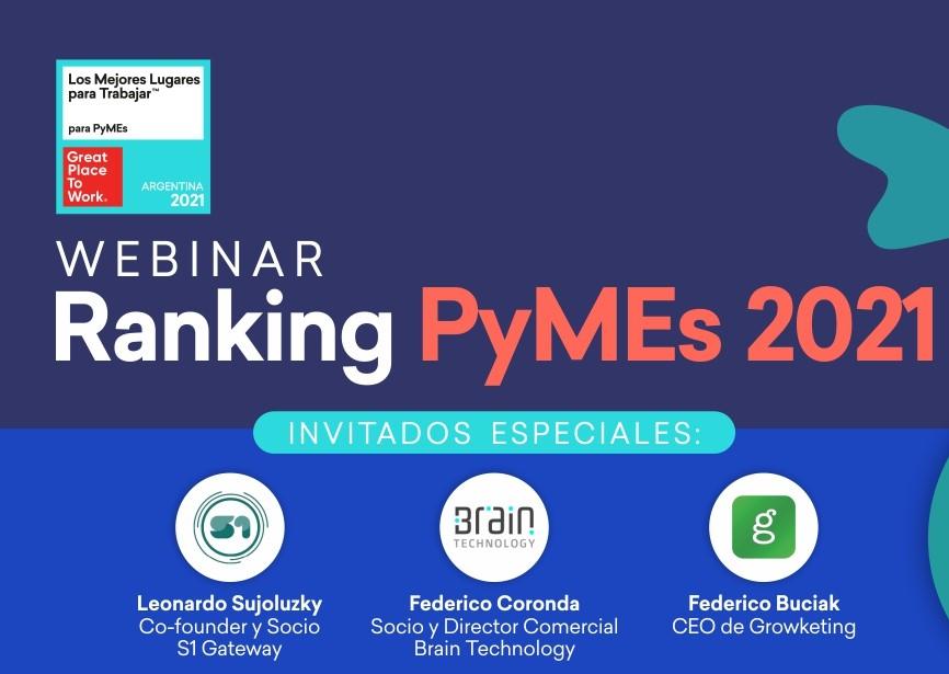 Webinar Ranking PyMEs 2021
